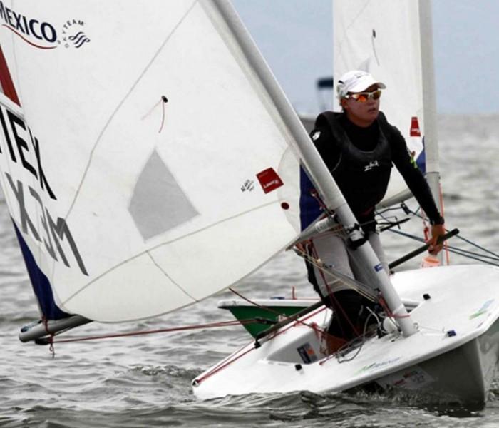 Vela, COM: Tania Elías en el lugar 22 después de 5 regatas y busca boleto para Río 2016