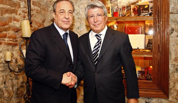 Futbol: Real y Atlético de Madrid se defenderán de la sanción que les impusieron