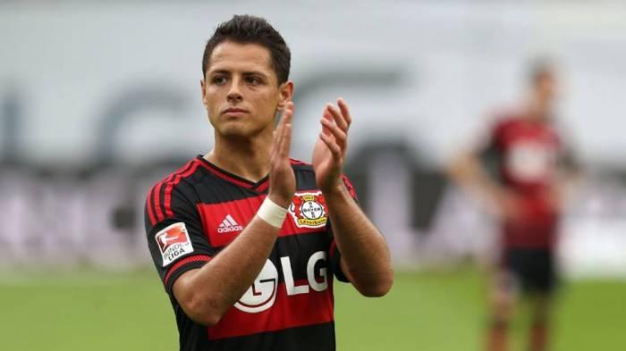 Futbol: Chicharito no anota pero Leverkusen se queda con los tres puntos