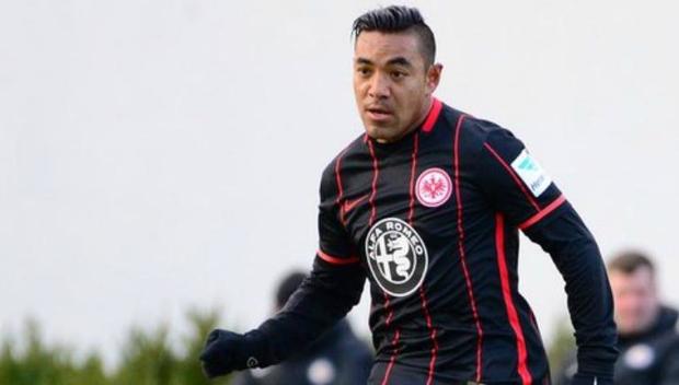 Futbol: Eintracht de Frankfurt con Fabián los noventa minutos no pasa del empate