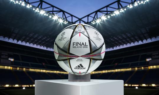 Futbol: Presentan el balón de la final de la Champions League