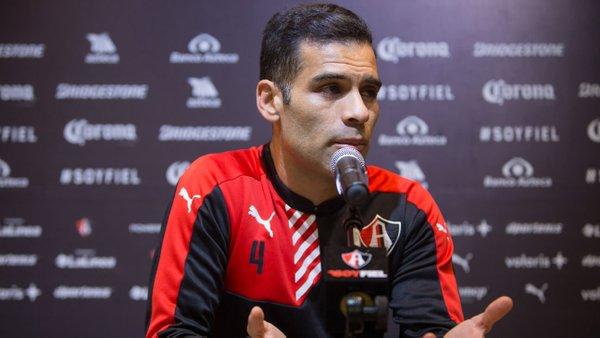 Futbol: Márquez cambiaría una Champions por un titulo con Atlas