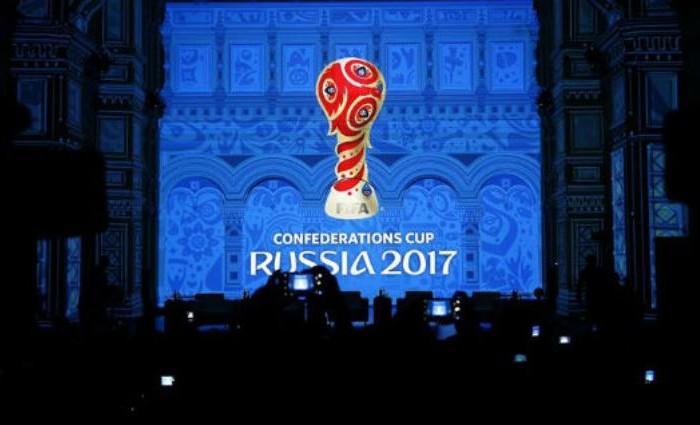Futbol: Listo el logo para la Copa Confederaciones de Rusia 2017