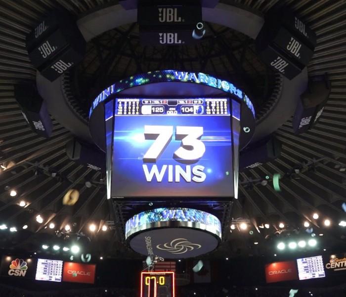Basketball, NBA: Llegaron los 73