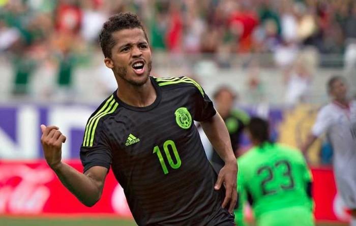 Futbol: Giovani Dos Santos estaría con la Selección Mexicana en Copa América