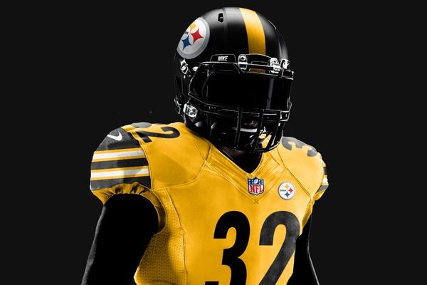Futbol Americano: Steelers presenta su uniforme