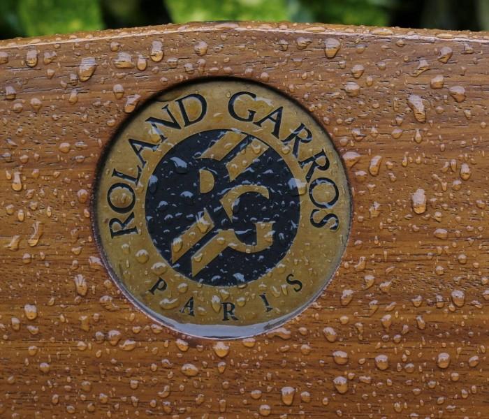 Tenis: Lluvia impide actividad en Roland Garros