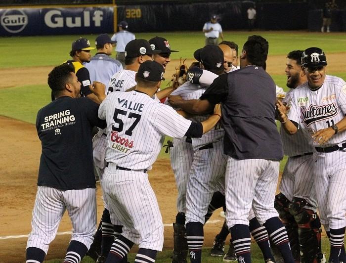 Beisbol, LMB: Espectacular voltereta y Sultanes le saca el juego a Rieleros