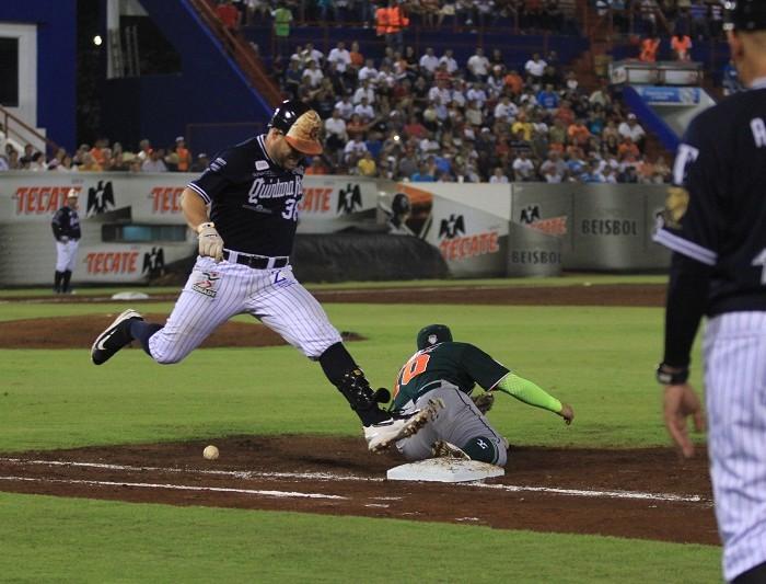 "Beisbol, LMB: El ""Chato"" Vázquez pega Grand Slam y Tigres blanquea"