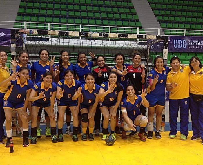 Universiada Nacional 2016: Tigrillas tricampeonas de handball