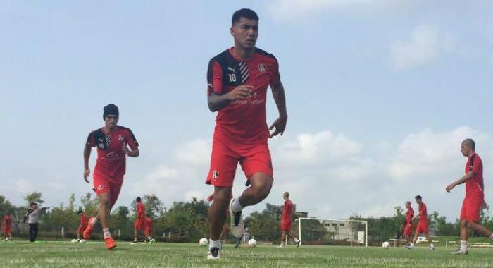 Fútbol, Liga MX; Jefferson Duque vive pretemporada con Atlas