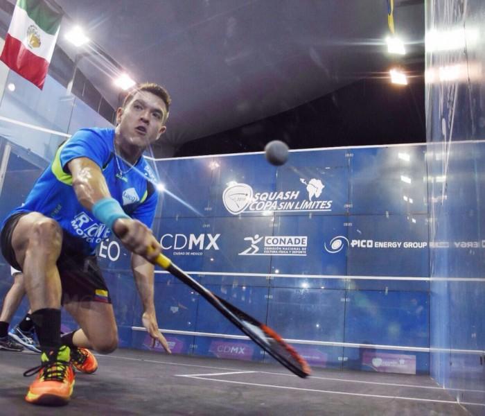 Squash: César Salazar se luce en la Copa Sin Limites