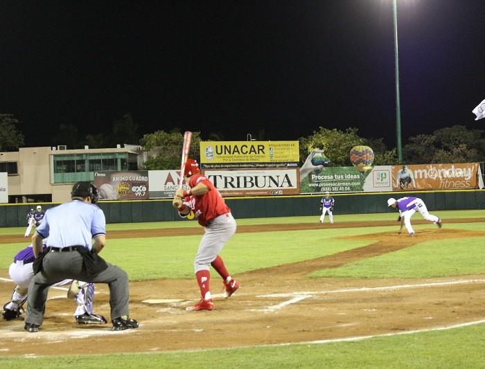 Beisbol, LMB: Delgado brilla de nuevo y Diablos asegura la serie ante Delfines