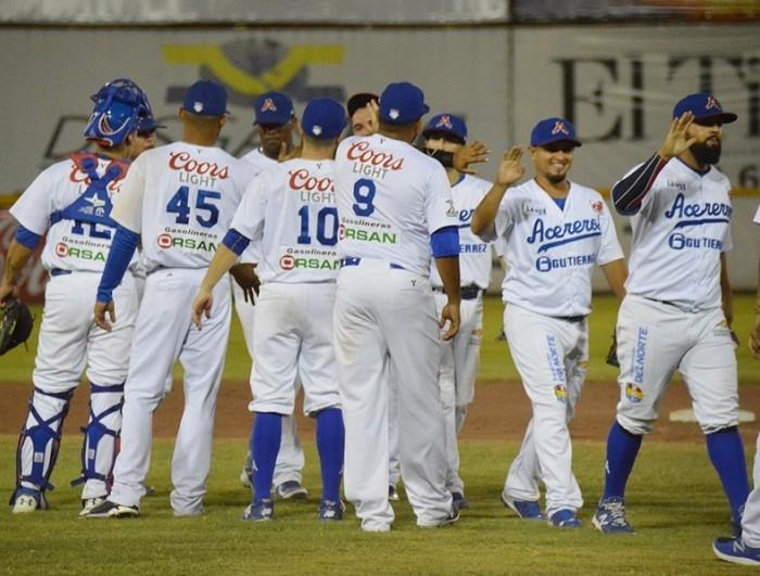 Beisbol, LMB: Acereros barre a Delfines y alcanza 8 victorias en fila