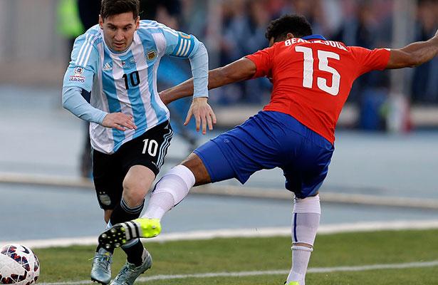 Futbol: Argentina y Chile repetirán la final de Copa América de hace un año