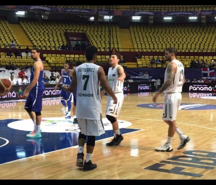 Básquetbol: México sufre primer derrota en Centrobasket