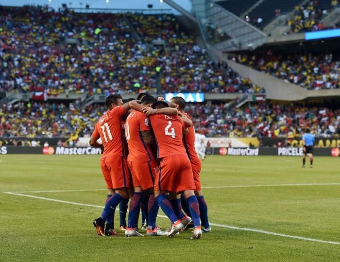 Futbol: Ni la tormenta evitó que Chile llegará otra vez a la final de Copa América