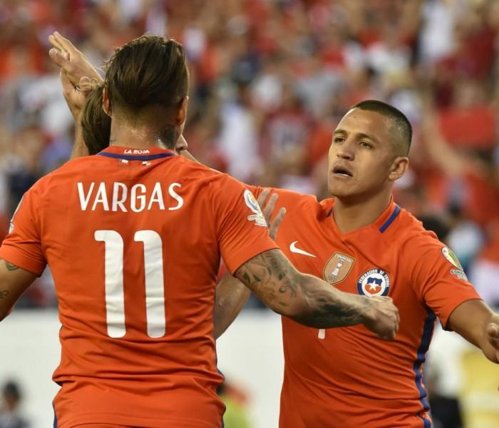 Fútbol: Alexis Sánchez califica a Chile a cuartos con su gol ante Ecuador