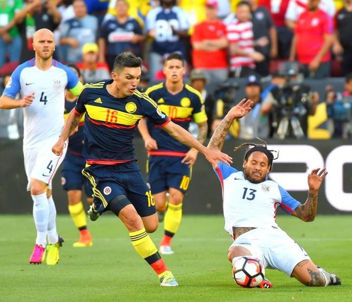 Futbol: Estados Unidos y Colombia por el lugar de consolación