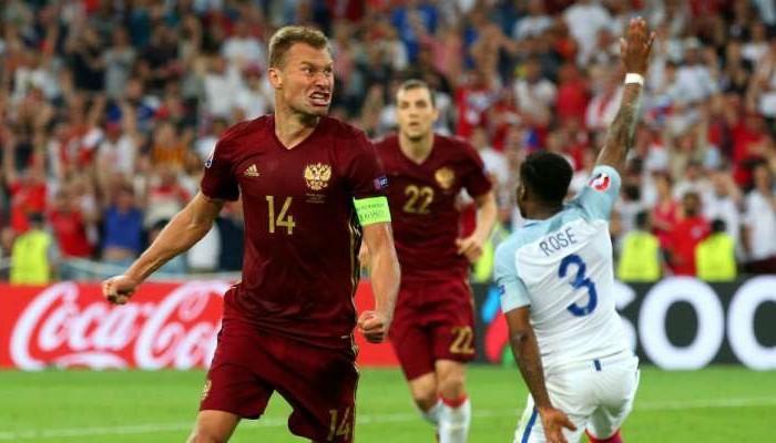 Futbol: Rusia le arrebata en los últimos minutos el triunfo a Inglaterra