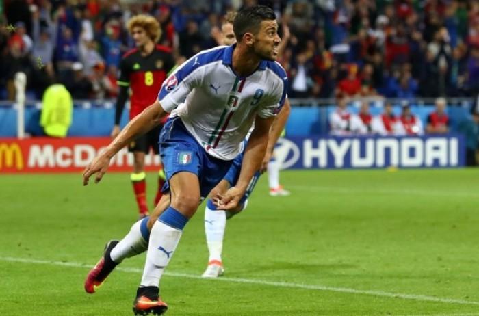 Futbol: Italia derrota a Bélgica y confirma ser favorito para ganar la Euro