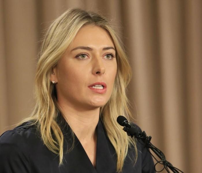 Tenis: Sharapova apela suspensión