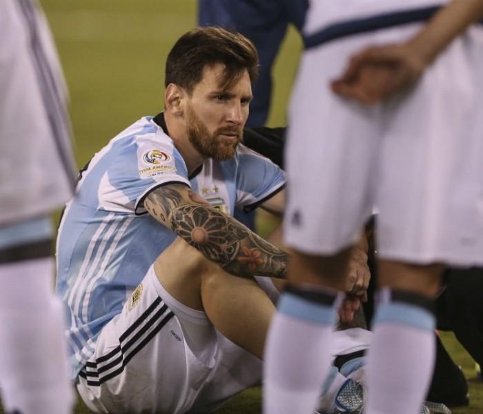 Futbol: Messi vuelve a fracasar en su intento de ganar algo con Argentina
