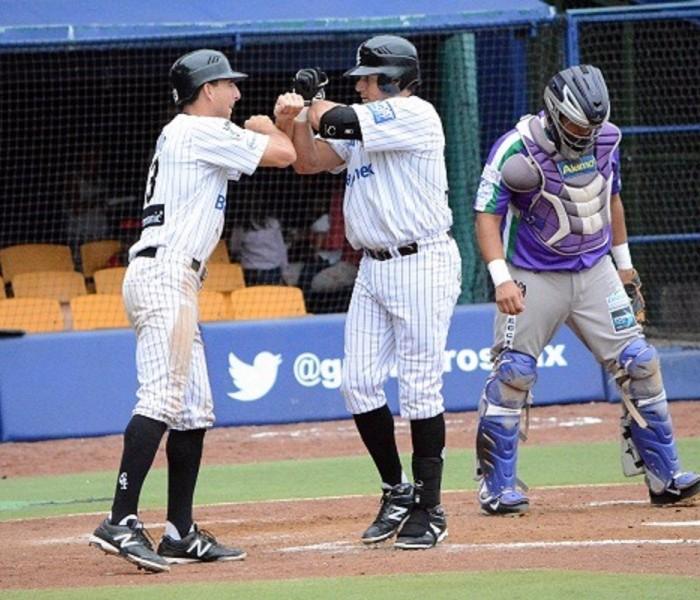 Beisbol, LMB: Guerreros le propinan paliza a los Delfines del Carmen.