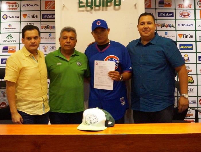 Beisbol, LMB: Manuel Rodríguez firma con Cachorros de Chicago