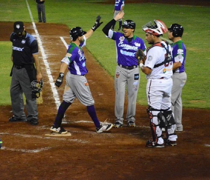 Beisbol, LMB: Delfines cortan racha de 13 derrotas en Campeche.