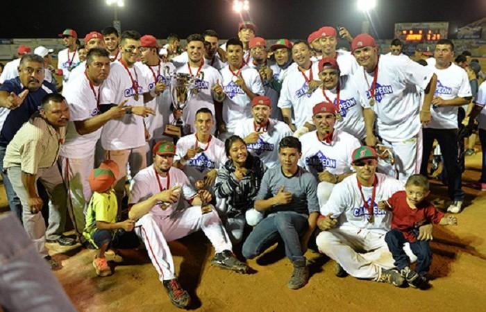 Beisbol, LMB, LNM: Freseros de San Quintín se coronan en la Liga Norte de México