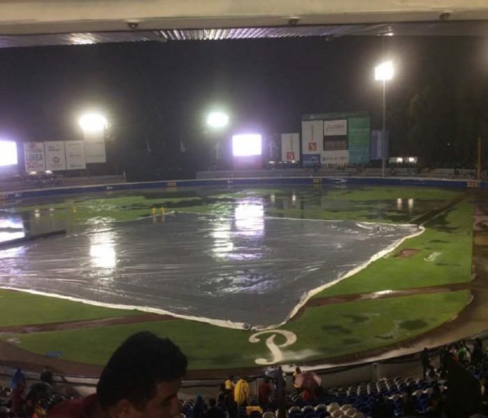 Beisbol, LMB: Tercer juego de la serie es suspendido en Puebla.