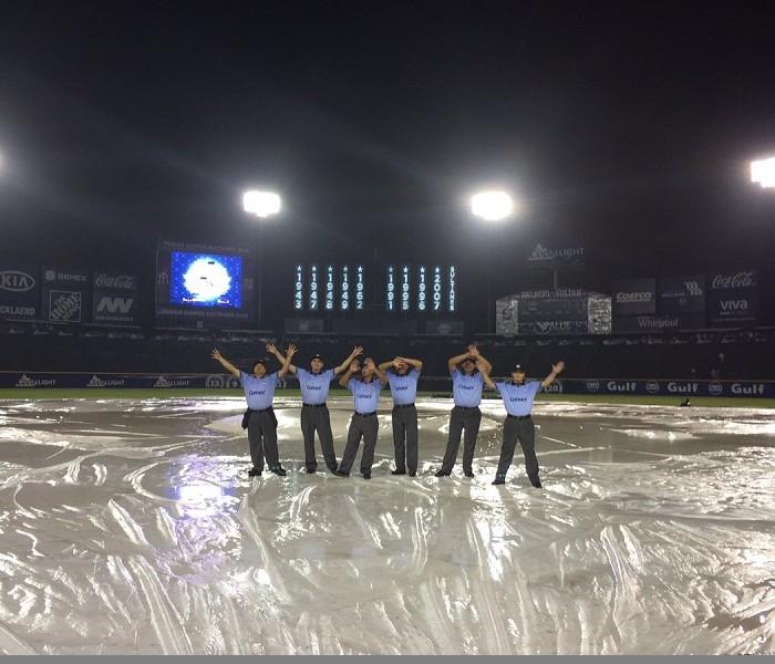 Beisbol, LMB: Se suspende por lluvia el primero entre Vaqueros y Sultanes