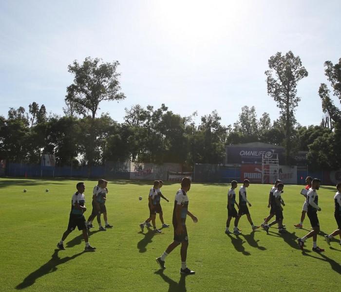 Futbol: Chivas cierra su preparación para jugar ante Mérida en la Copa MX