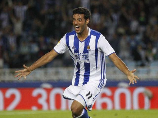 Futbol: Carlos Vela vuelve a anotar con la Real Sociedad