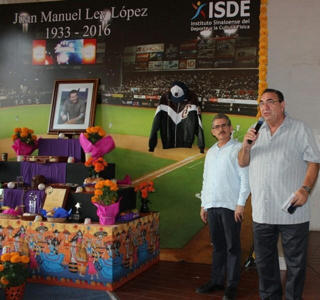 Beisbol, LMP: ISDE rinde homenaje a Juan Manuel Ley