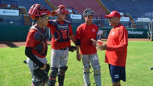 Beisbol, LMB, LPB: Piratas trabaja para poner a punto a sus catchers para la Liga Peninsular