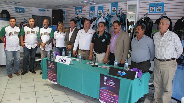 Beisbol, LMB: Presentaron el Mundial Sub-23 en Saltillo