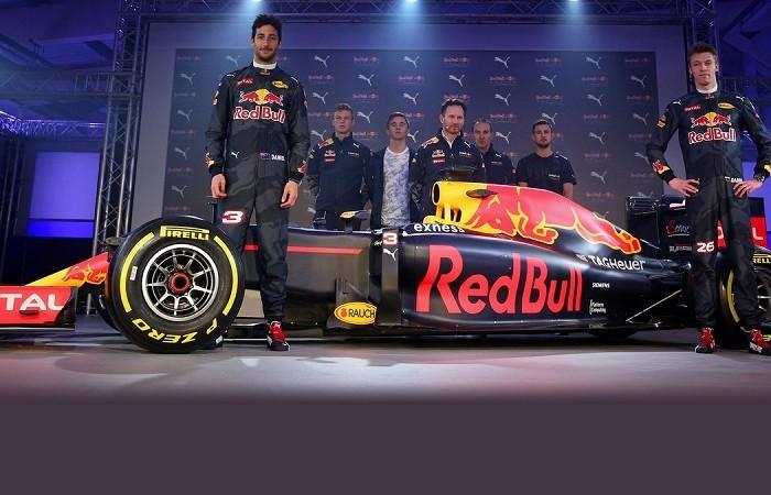 Automovilismo: El equipo Red Bull llegó a México