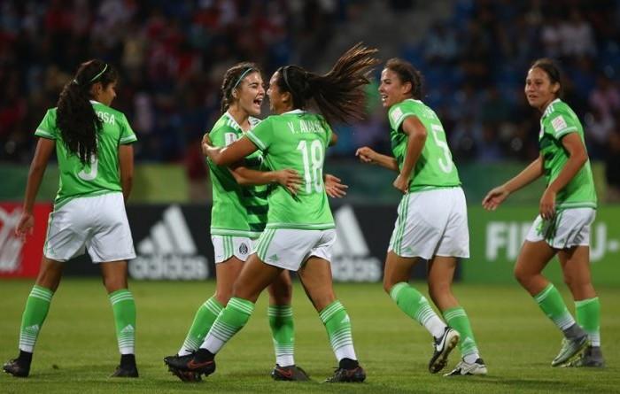 Futbol: Selección Mexicana femenil triunfa goleando en el Mundial Sub 17