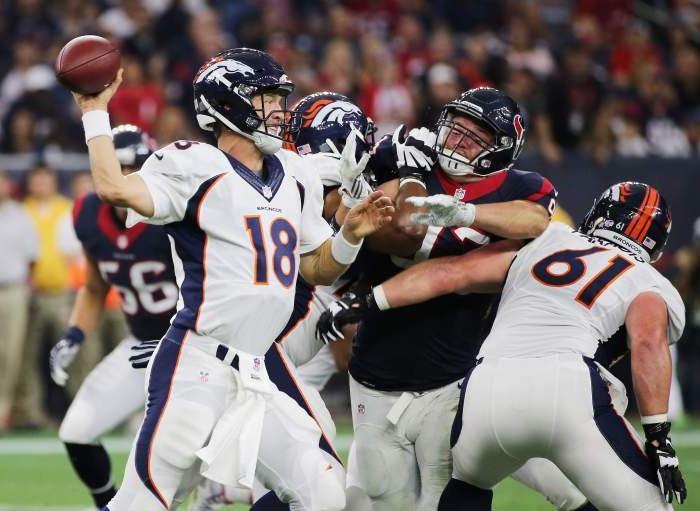 Futbol Americano: Los Broncos vences a los Texanos