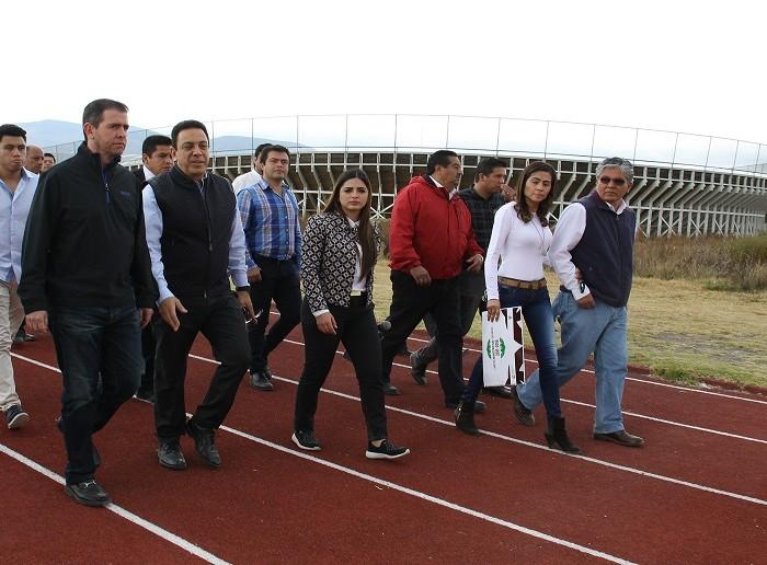 CONADE: CONADE evalúa rehabilitación en Centro Estatal de Alto Rendimiento de Hidalgo
