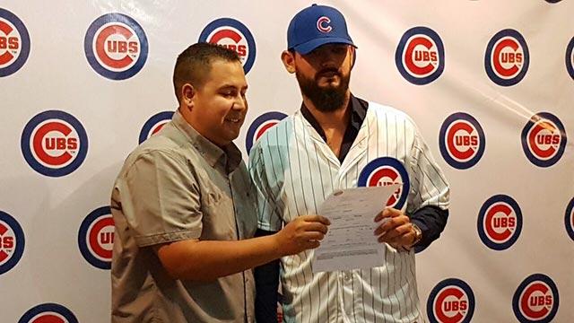 Beisbol, LMB: Mario Meza firmó con los campeones Cachorros de Chicago