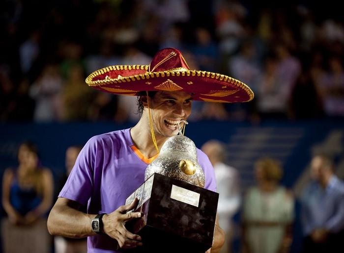 Tenis: Si vendrá Rafael Nadal al Abierto Mexicano