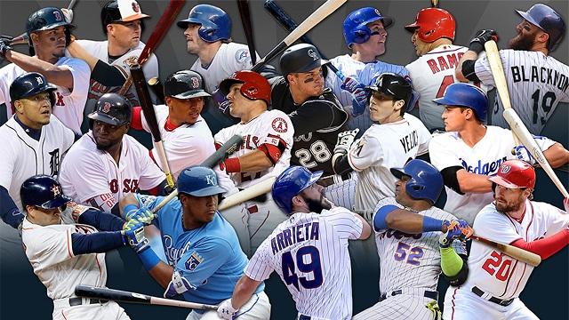 Beisbol, MLB: Dieron a conocer a los ganadores del Bat de Plata 2016 de Grandes Ligas