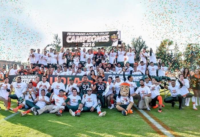 Futbol Americano: Aztecas de la UDLAP son campeones de Conadeip