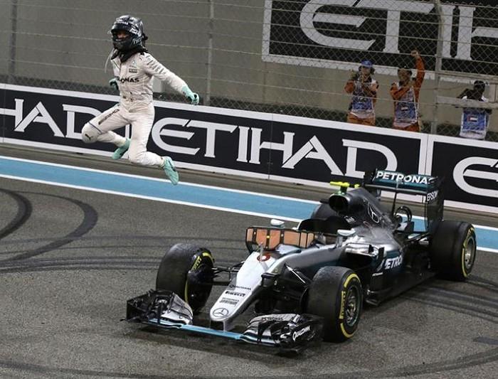 Automovilismo: Rosberg reconoce a Hamilton