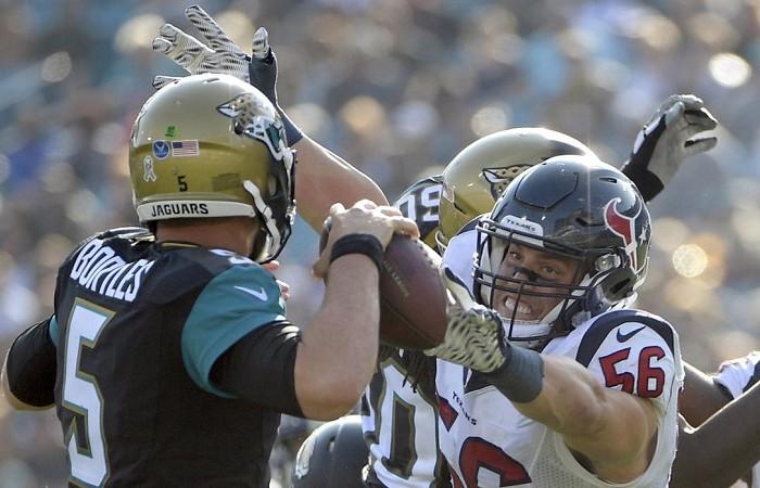 Futbol Americano: Texans triunfan sobre Jaguars