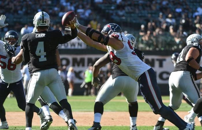 Futbol Americano: Texans y Raiders se alistan para el Azteca