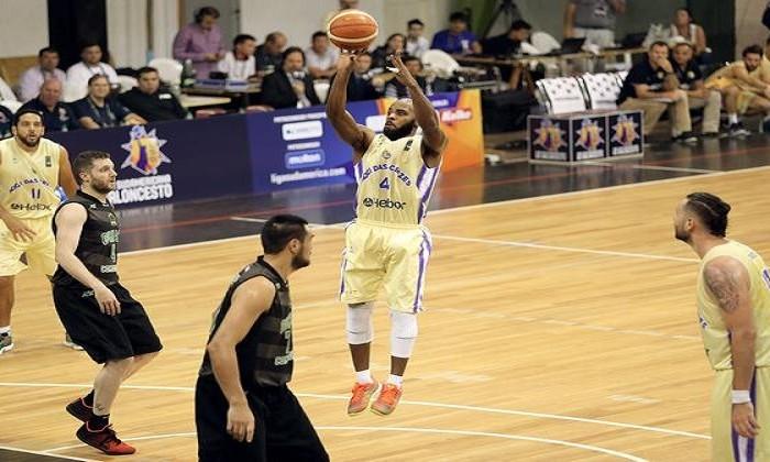 Liga Sudamericana, Baloncesto: Mogi das Cruzes domina el primer juego